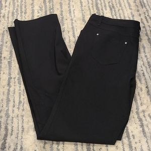 Cleo black tall straight leg jeans / casual pants